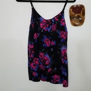 Floral swing cami